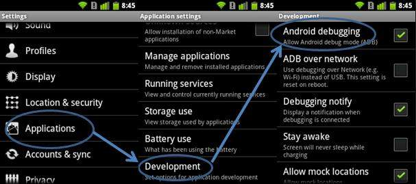 install apk android
