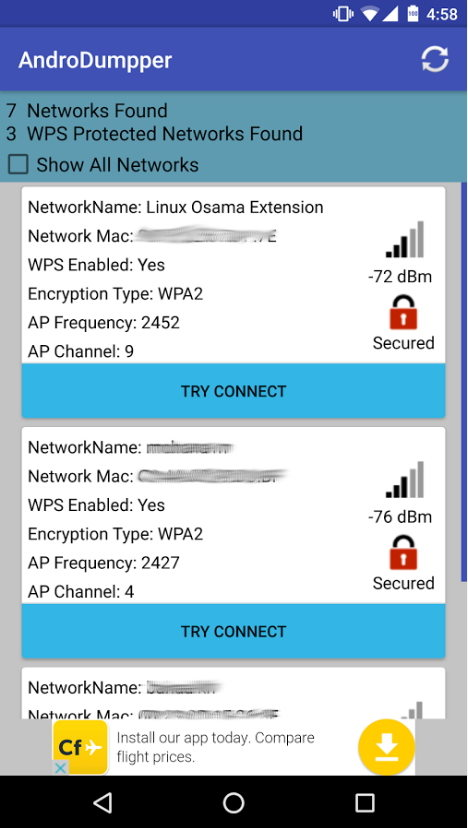 Top 5 Apps to Hack Wi-Fi Password On Android 2018 (No Root)