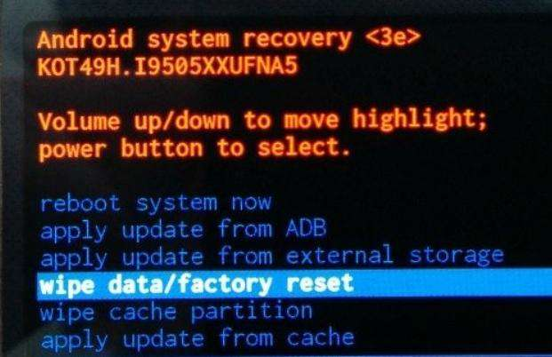 fix android blue screen of death