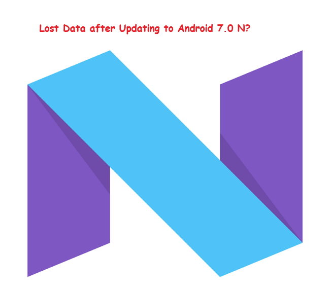 recover data after android update