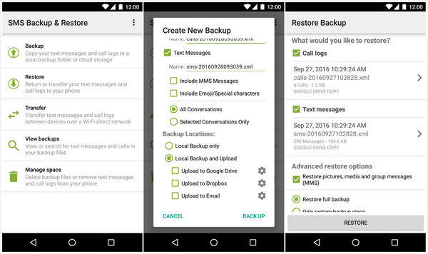 Top 3 Ways to Recover Deleted Text Messages on Android
