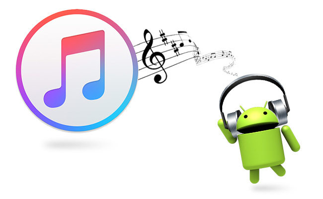 transfer music to android from itunes