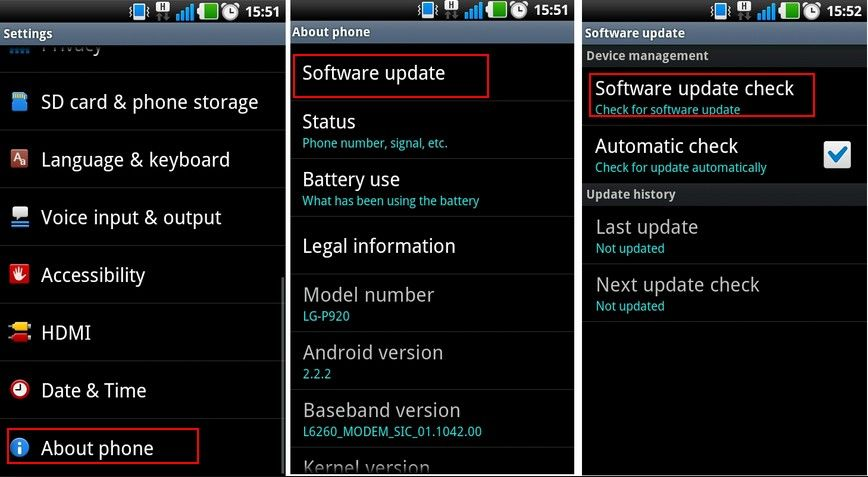 how to fix android blue screen
