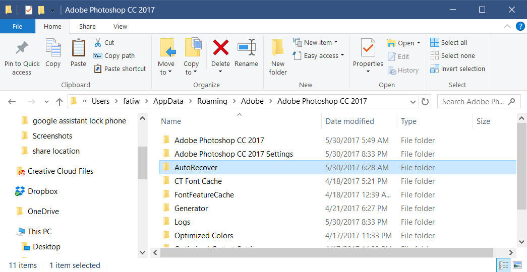 How to Recover Crashed PSD File without Saving