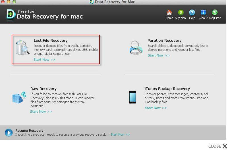 recover lost mac file