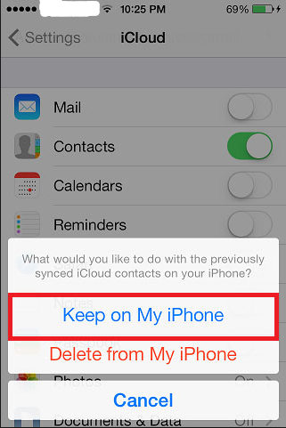 restore iphone messages from icloud