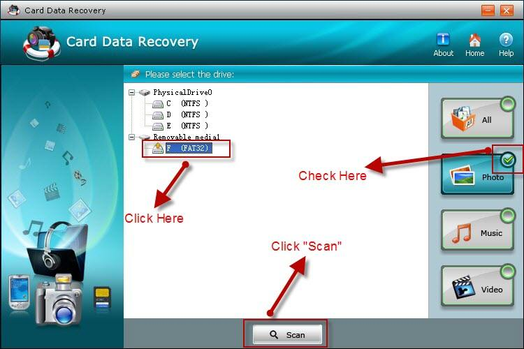 recover text message from sd card