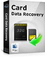 Download Card Data Recovery for Mac