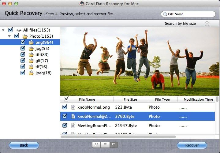 recover data from Samsung on mac
