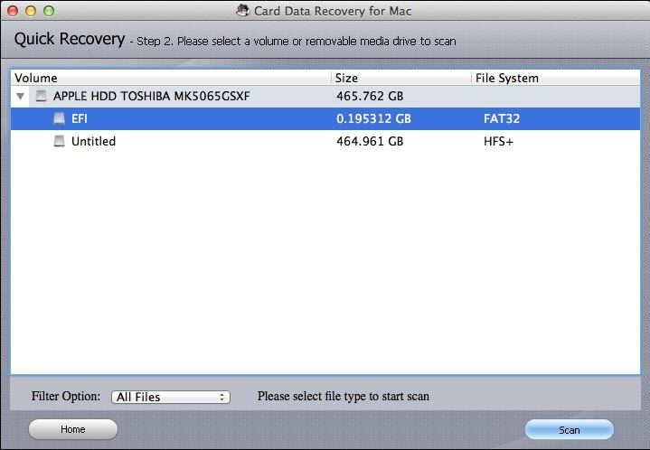 recover files from memory card on mac