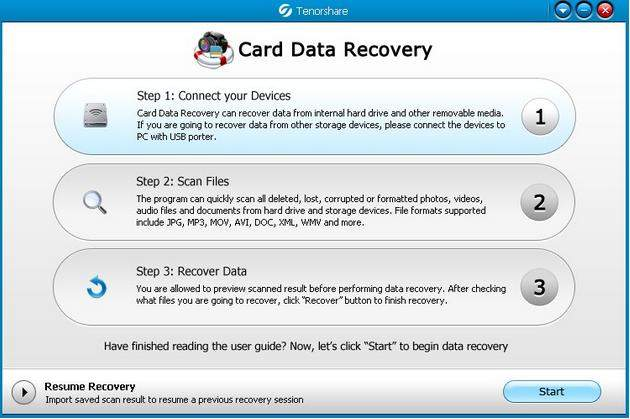 flash card recovery