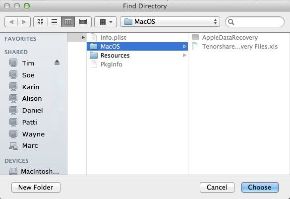 recover iphone data on mac