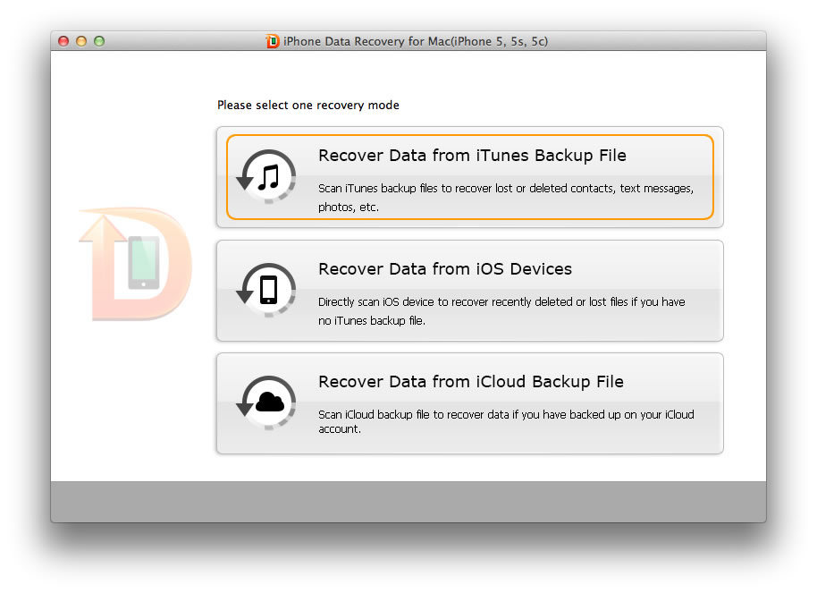 iphone 4 data recovery for mac
