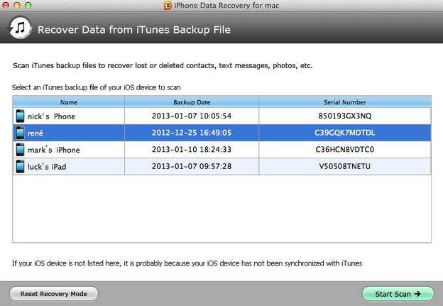 iphone 5 data recovery for mac