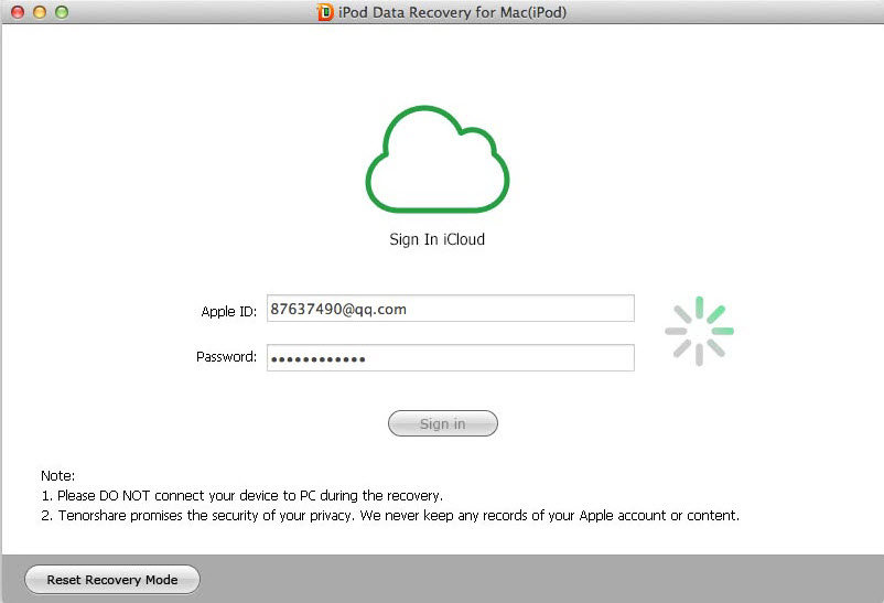 recover ipod files on mac