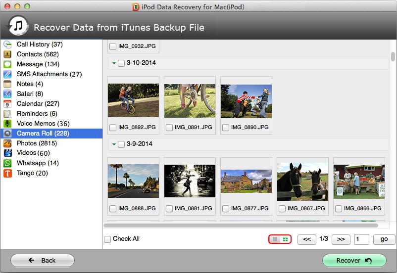 recover deleted ipod photos on mac