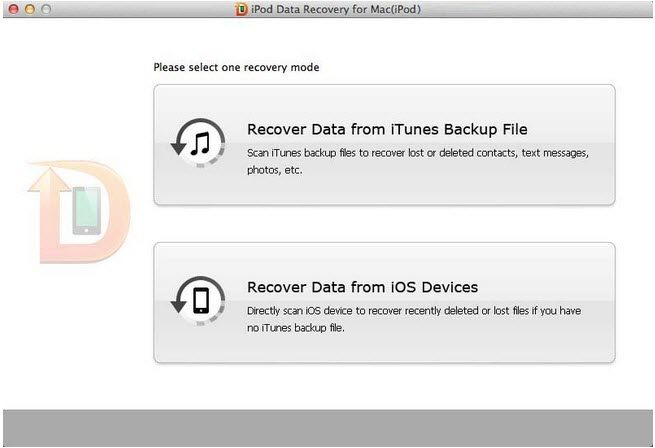 recover ipod files om mac