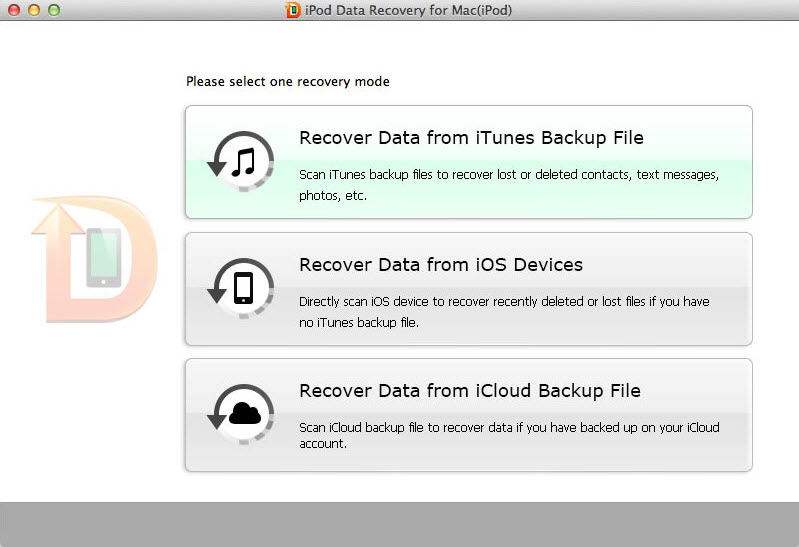 iPod Touch 4 Data Recovery for Mac Guide – How to Restore